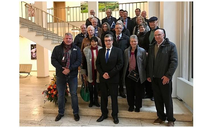 Besuch des sächsischen Landtages