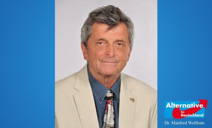 Unser Mann für Berlin: Dr. Manfred Wolfrum