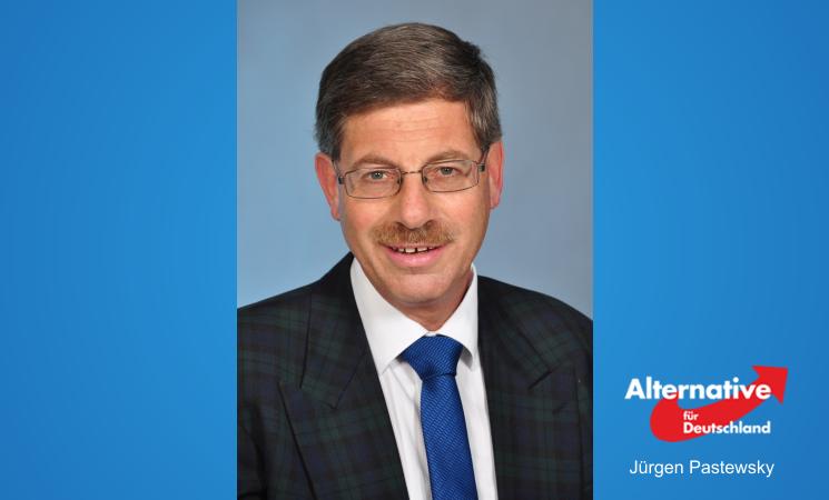 Unser Kandidat für den Wahlkreis 10 - Jürgen Pastewsky