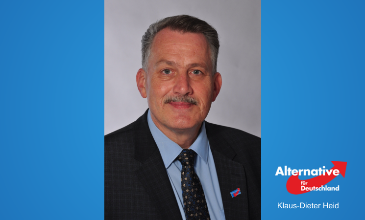 Unser Kandidat für den Wahlkreis 09 - Klaus-Dieter Heid