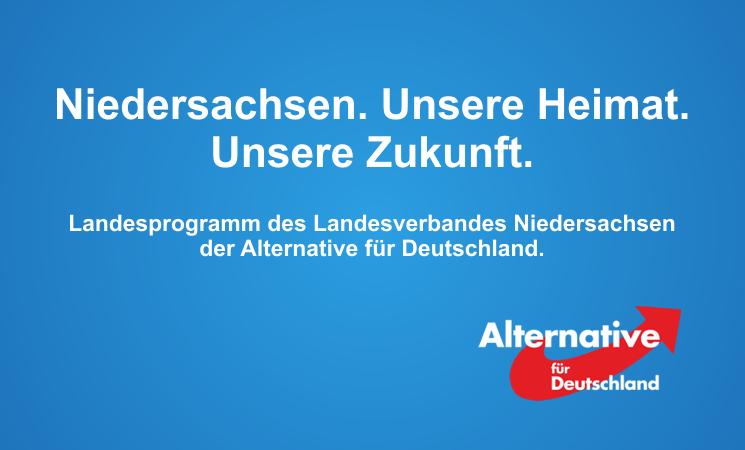AfD Programm Niedersachsen