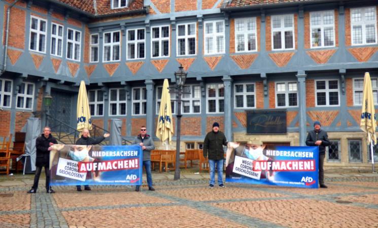 """Aktionstag """"Niedersachsen wieder aufmachen"""""""